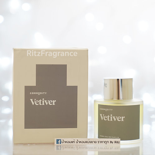 Commodity : Vetiver Eau de Parfum 100ml