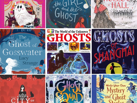 Ghostly Greetings: A Booklist for Kids