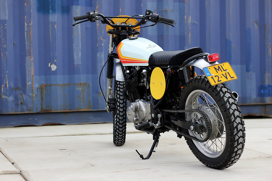 cool kid customs suzuki gr650 scrambler haarlem