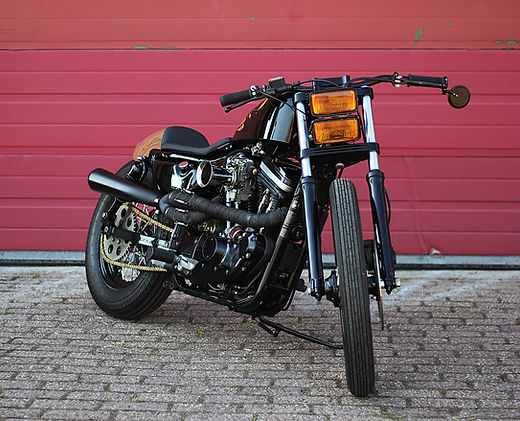 Cool kid customs Harley davidson sportster cafe racer