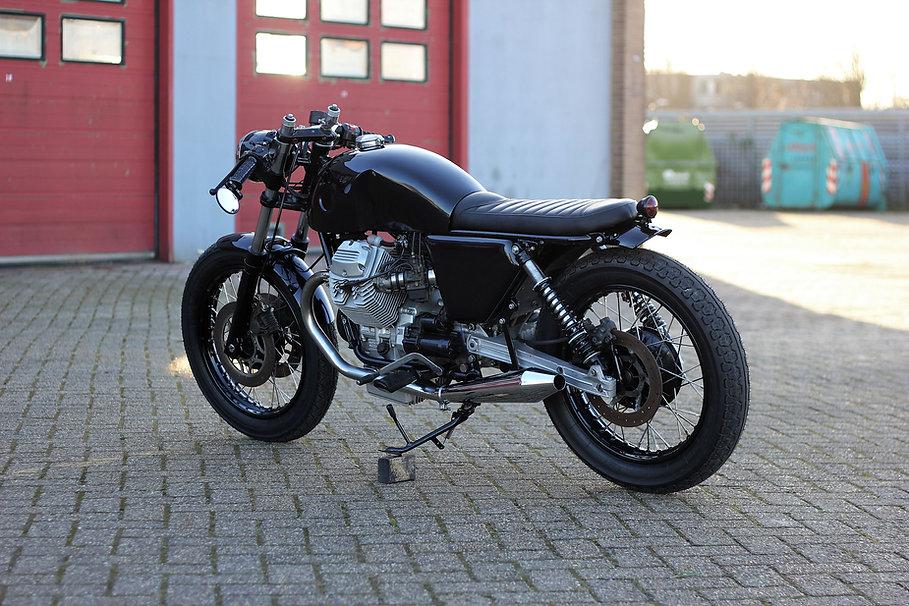 cool kid customs moto guzzi caferacer cafe racer haarlem nederland
