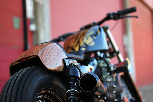 Cool kid customs Harley davidson cafe racer