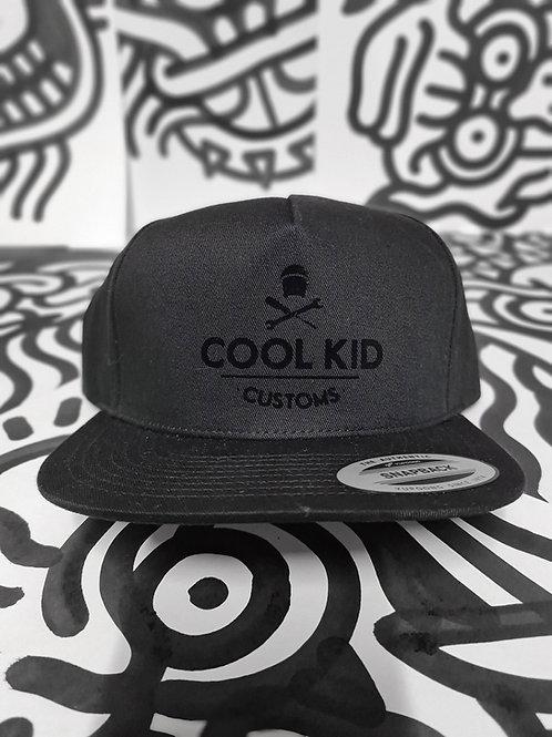 CKC Snapback cap - Black