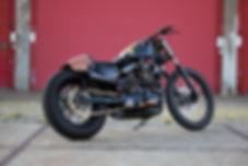 Cool kid customs Harley davidson cafe racer amsterdam