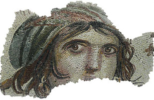 "The ""Gypsy Girl"" awaits the return of looted mosaics to Turkey"