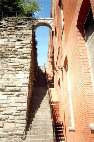 The Exorcist steps may become a historic landmark