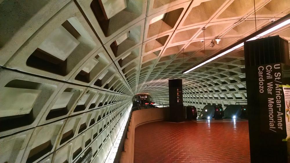 Metro subway station, Washington DC