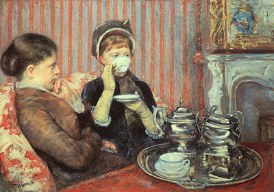 Mary Cassatt, The Cup of Tea, 1879