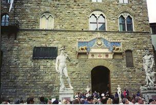 Michelangel's David (copy), Florence, Italy