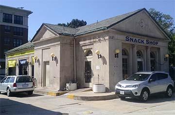 Dupont Circle gas station, Washington DC