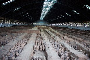 Terracotta warriors on the move—Philadelphia, PA and Richmond, VA