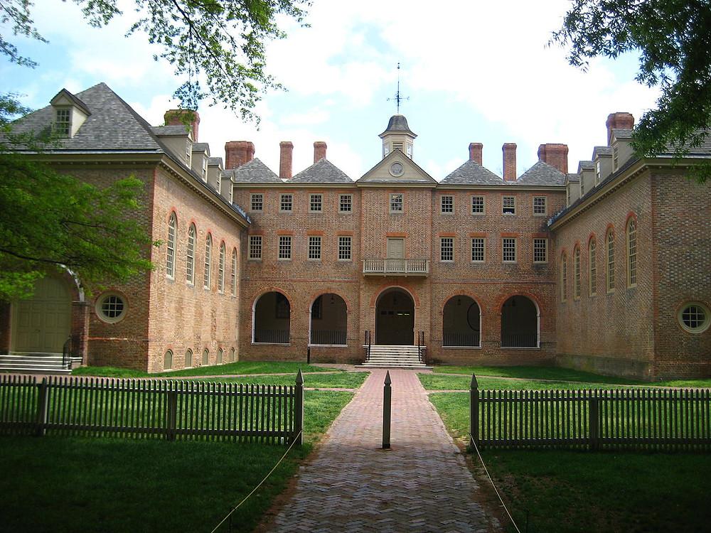 Wren Building, College of William and Mary, Williamsburg, Virginia