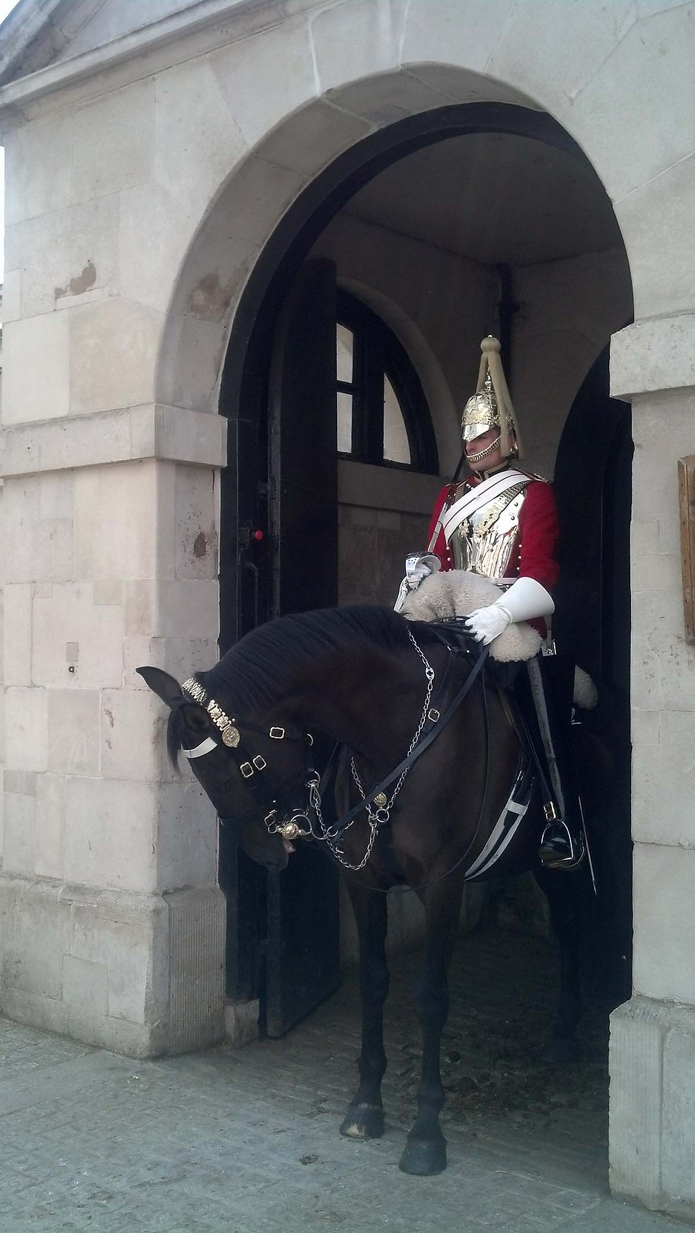 London mounted guard, London, England