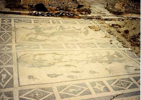 Ancient Mosaic in Greece