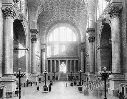 Penn Station grand hall (demlished), New York City