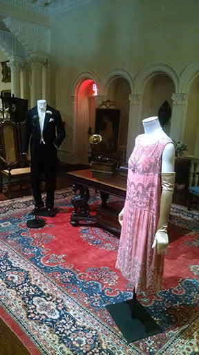 """Changing Fashion for Changing Times""—Downton Abbey costume exhibit in a Gilded Age settin"