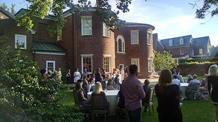 """Grand re-opening of Dumbarton House—a """"cool"""" thing"""