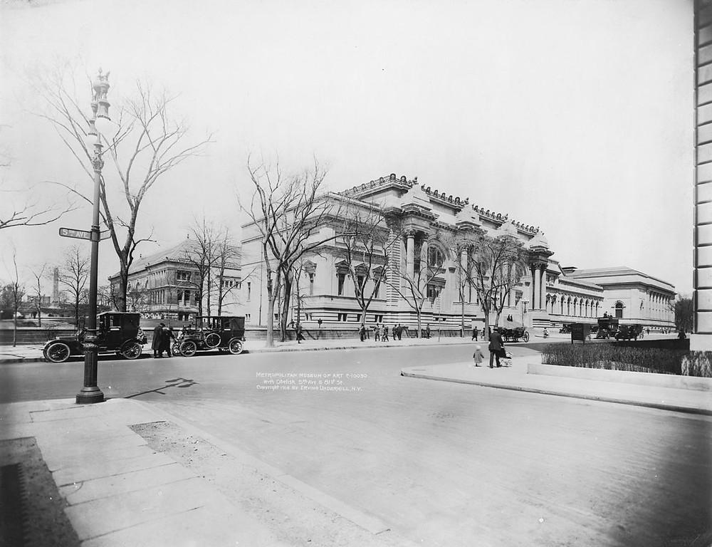 Metropolitan Museum of Art, New York City, in 1914
