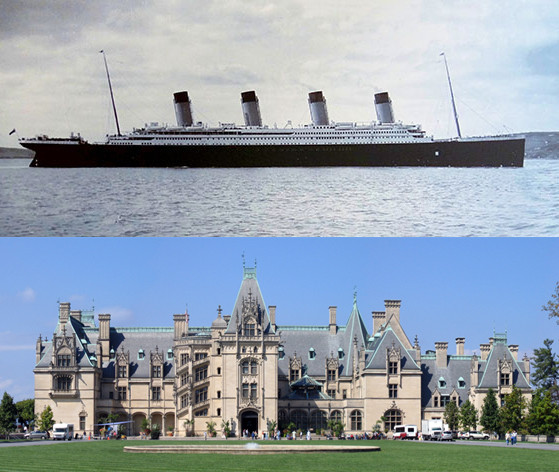 Titanic and Biltmore Estate