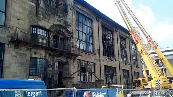 Glasgow School of Art in Scotland