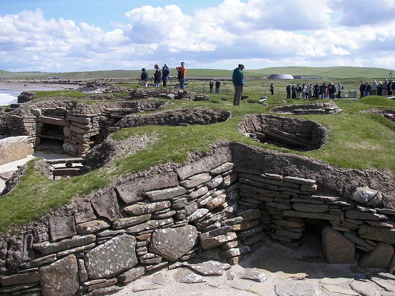 Skara Brae archaeological site, Scotland