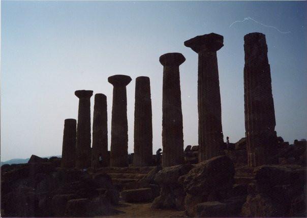 Greek ruins, Agrigento, Sicily