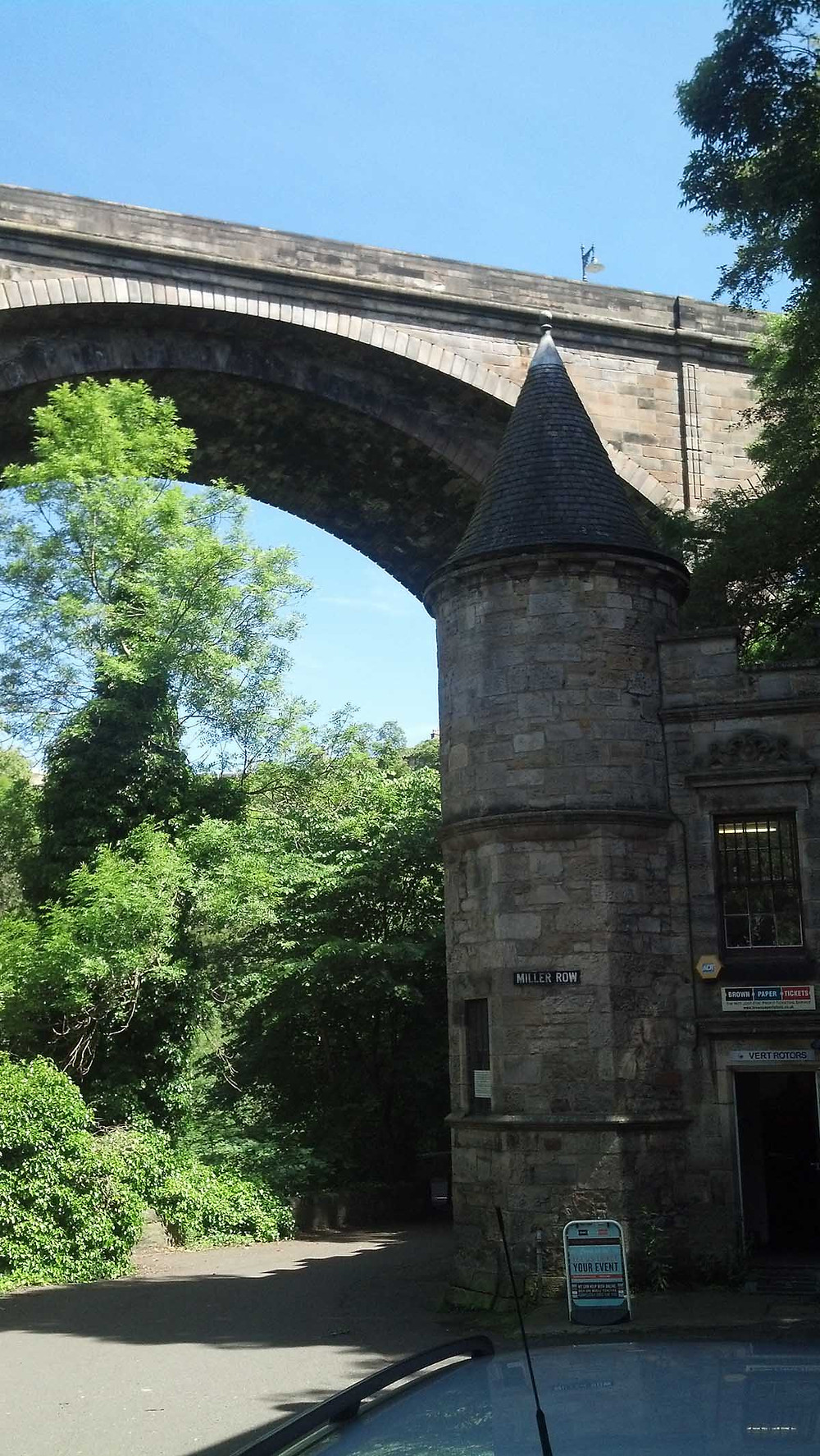 Dean Bridge, Edinburgh, Scotland