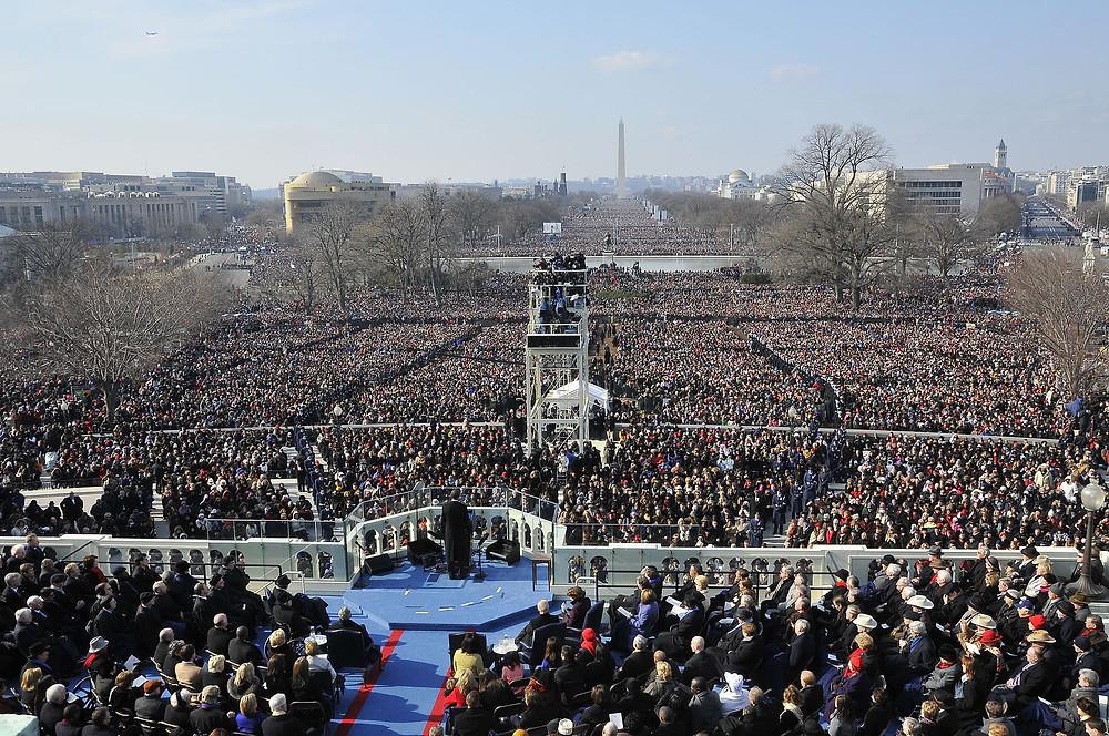 President Obama's first inaugural address, Washington DC