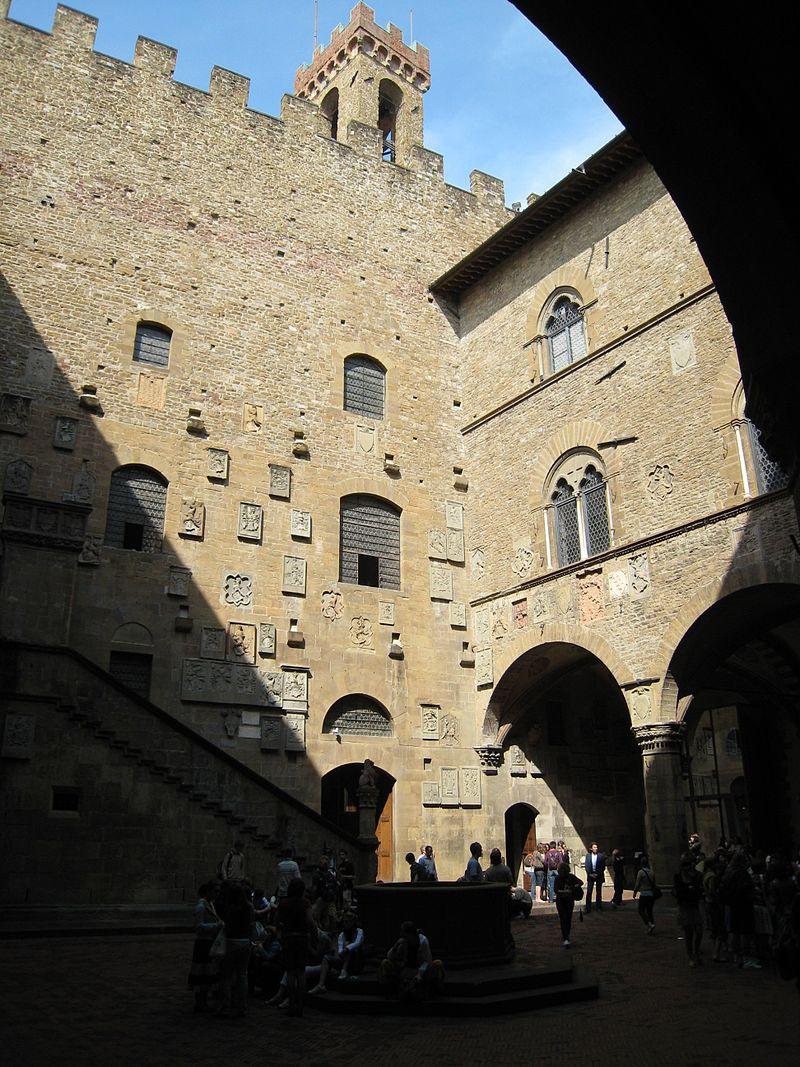 Bargello courtyard, 2007, Florence, Italy