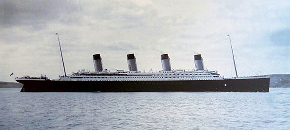 RMS Titanic, 1912