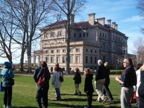 The Breakers in Newport Rhode Island