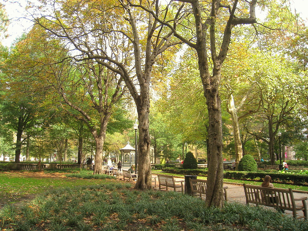 Rittenhouse Square, Philadelphia, Pennsylvania (2010)