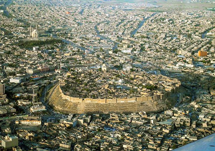Irbil Citadel, 2008. Kurdistan, Iraq