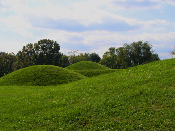 Mound City Site, Hopewell Ceremonial Earthworks, Ohio, United States