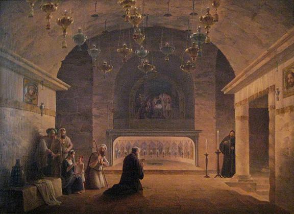 Church of the Nativity, 1833, Bethlehem, Israel