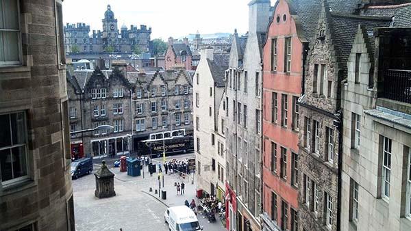 Medieval architecture, Edinburgh, Scotland