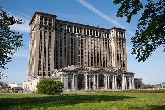 Michigan Central Railroad Station, Detroit, Michigan in 2010