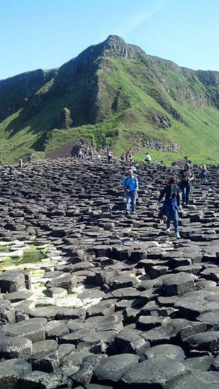Royal Visit to the Giant's Causeway