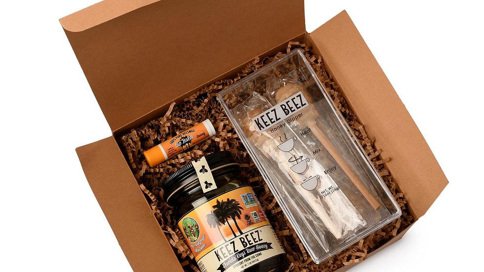 Honey + Honey Dipper +Lip Balm Gift Box