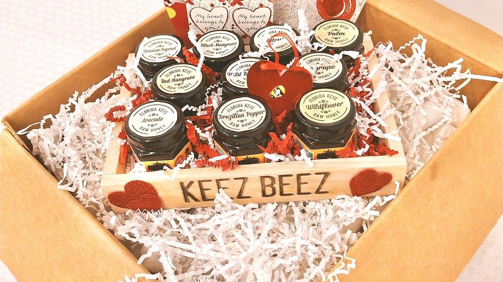 Honey Variety Set- Valentine's Gift Set