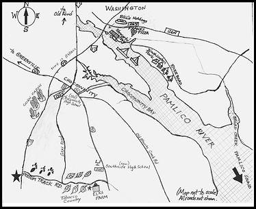 Possum Track map