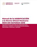 Manual de la MODIFICACIÓN a la Norma Of