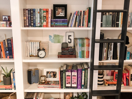 Bookshelves: A Love Your Home Story