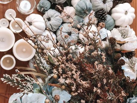 Fall Decorating: Three Ways