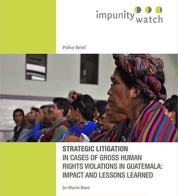 Policy Brief Guatemala Strategic Litigat