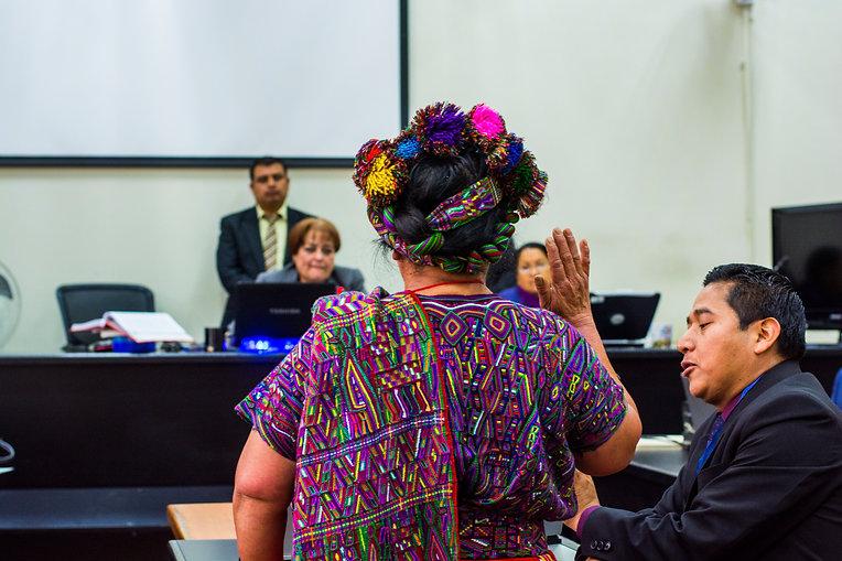Audiencia del segundo juicio por genocid