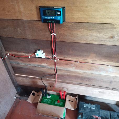 Mini DC Solar Power for Garden House