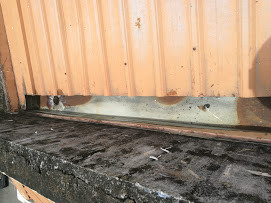 Replacement of Metal Gutter using PVC type