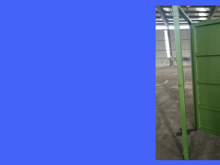 Metal Work to enforced a warehouse security
