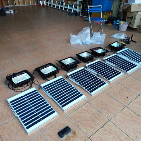 Solar Flood Lighting for the Church